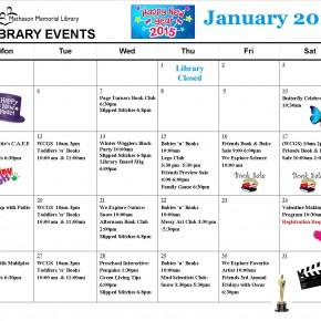 jan-feb 2015 calendar insert